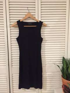 Guess Black Party Dress with Back Cutout