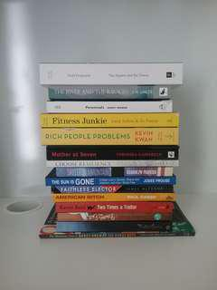 All 16 books for $10