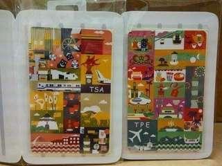 台灣 悠遊卡 桃園機場款 松山機場款2張 包郵費 交通卡