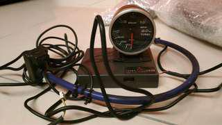 Original Defi Turbo/Boost Meter