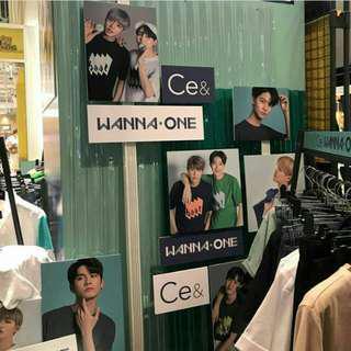 wanna one x ce&