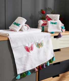 🚚 Free delivery - 3 pieces of 100% cotton towel