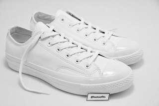 Converse CTAS 1970s/70s Ox Monochrome White Leather