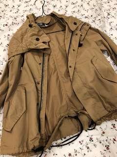Zara waterproof jacket