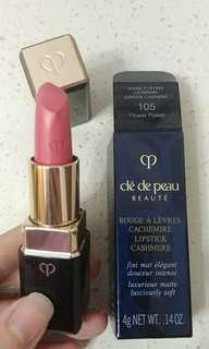 18 最新唇膏 Cle De Peau CASHMERE Lipstick 柔滑輕絨唇膏 #105  Flower Power CPB