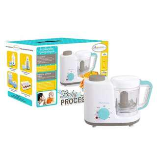 Autumnz 2-in-1 Baby Food Processor (Steam & Blend)(Turquoise)