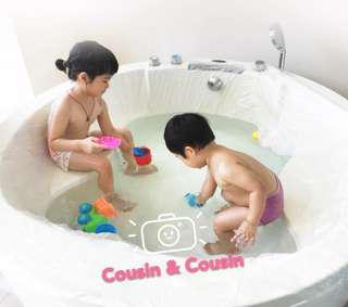 😎😍『一次性浴缸泡澡袋』😍😎