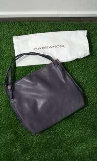Preowned authentic Rabeanco Shoulder leather Tote Bag