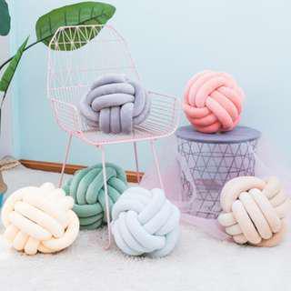 Nordic Knot Design Cushion, 北歐款麻花扭結 Cushion