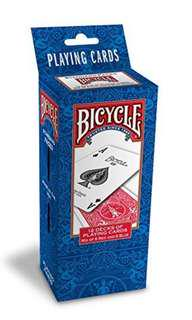 Bicycle playing card (brick)
