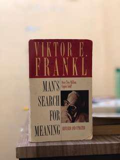 Man's Search for Meaning (Viktor Frankl)