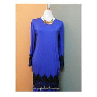 Baju Kurung Moden Lace (like new!)