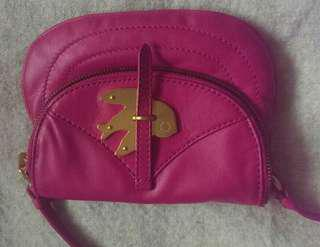 Marc Jacob's pink leather petal to the metal crossbody