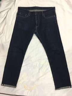 Uniqlo Selvedge W35 Slim Fit Denim Jeans