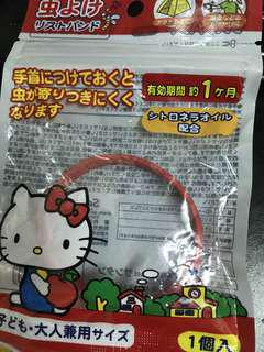 Hello Kitty 防蚊帶