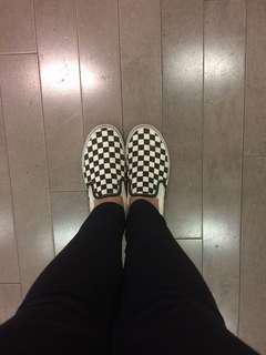 Vans checkered