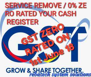 SERVICE ZERO RATED FOR GST
