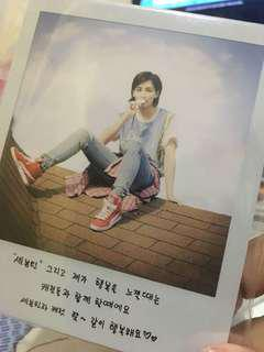 Jeonghan Big polaroid