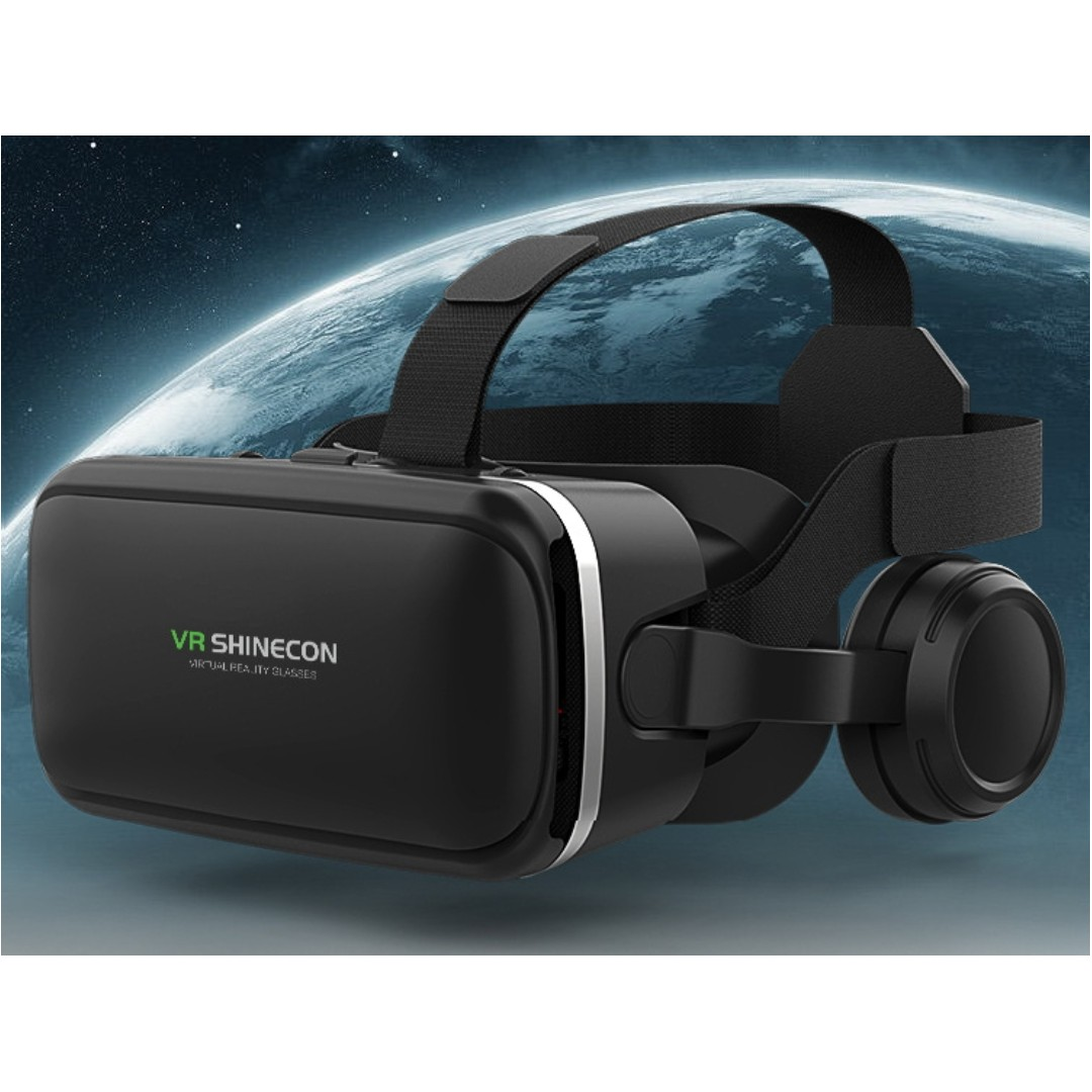 778e3ff55a9 3D VR Glasses Virtual Reality 3D VR BOX With Headphone