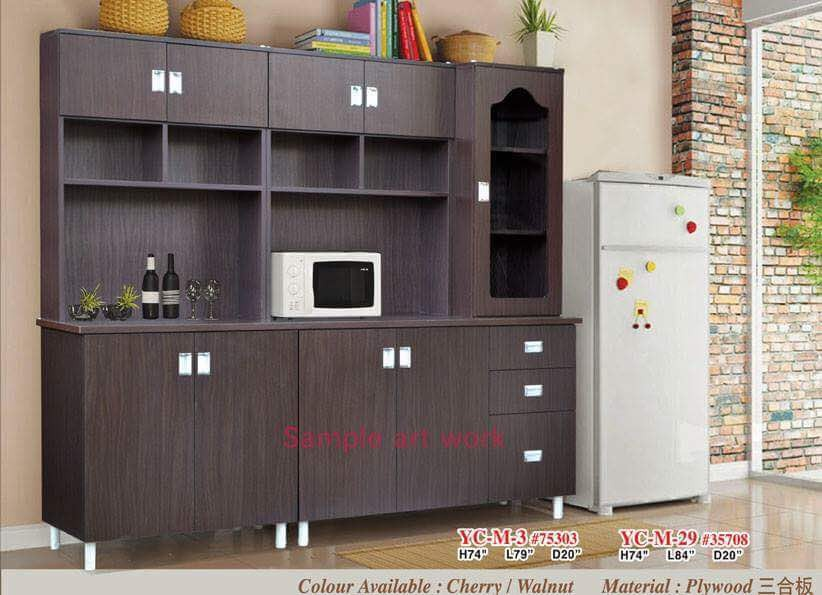 7ft Kitchen Cabinet Warehouse Sale Furniture Shelves Drawers On