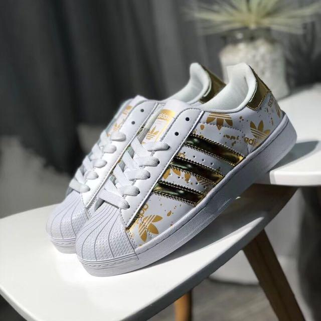 check out b77bc d5cc2 ADIDAS SUPERSTAR 2018 (PRINTS), Women's Fashion, Shoes on ...