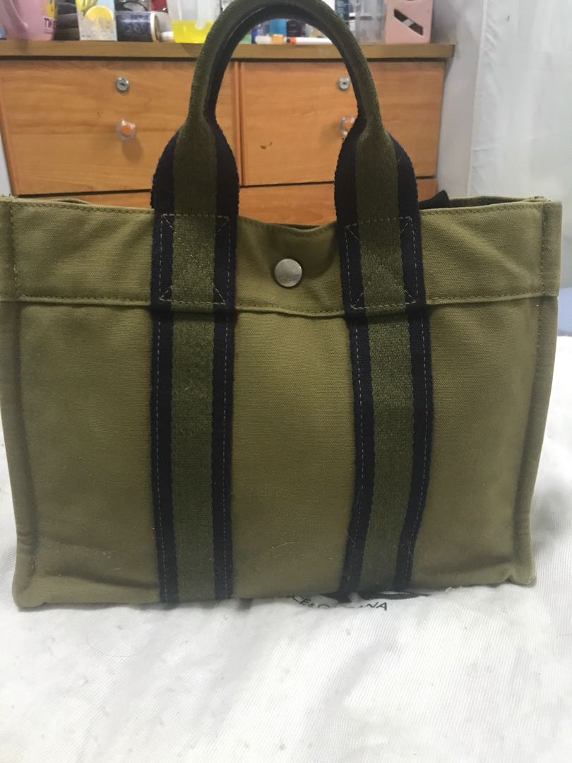 43b99a7b90ae Authentic Hermes fourre tout PM tote bag