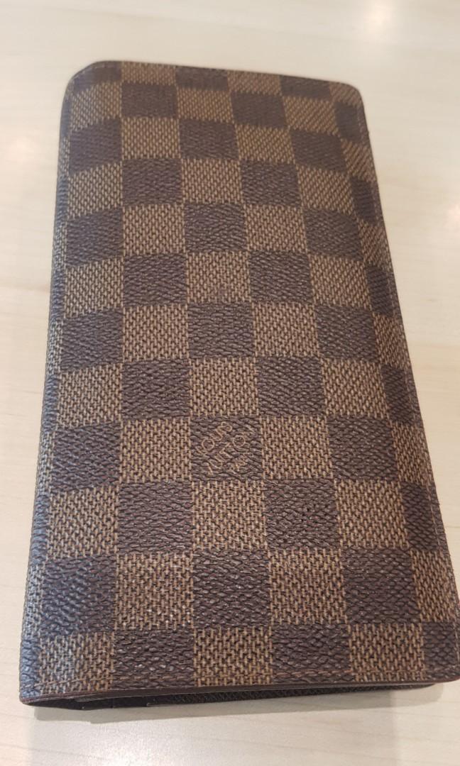 262bb83345a99 💯AUTHENTIC Louis Vuitton BRAZZA WALLET N60017