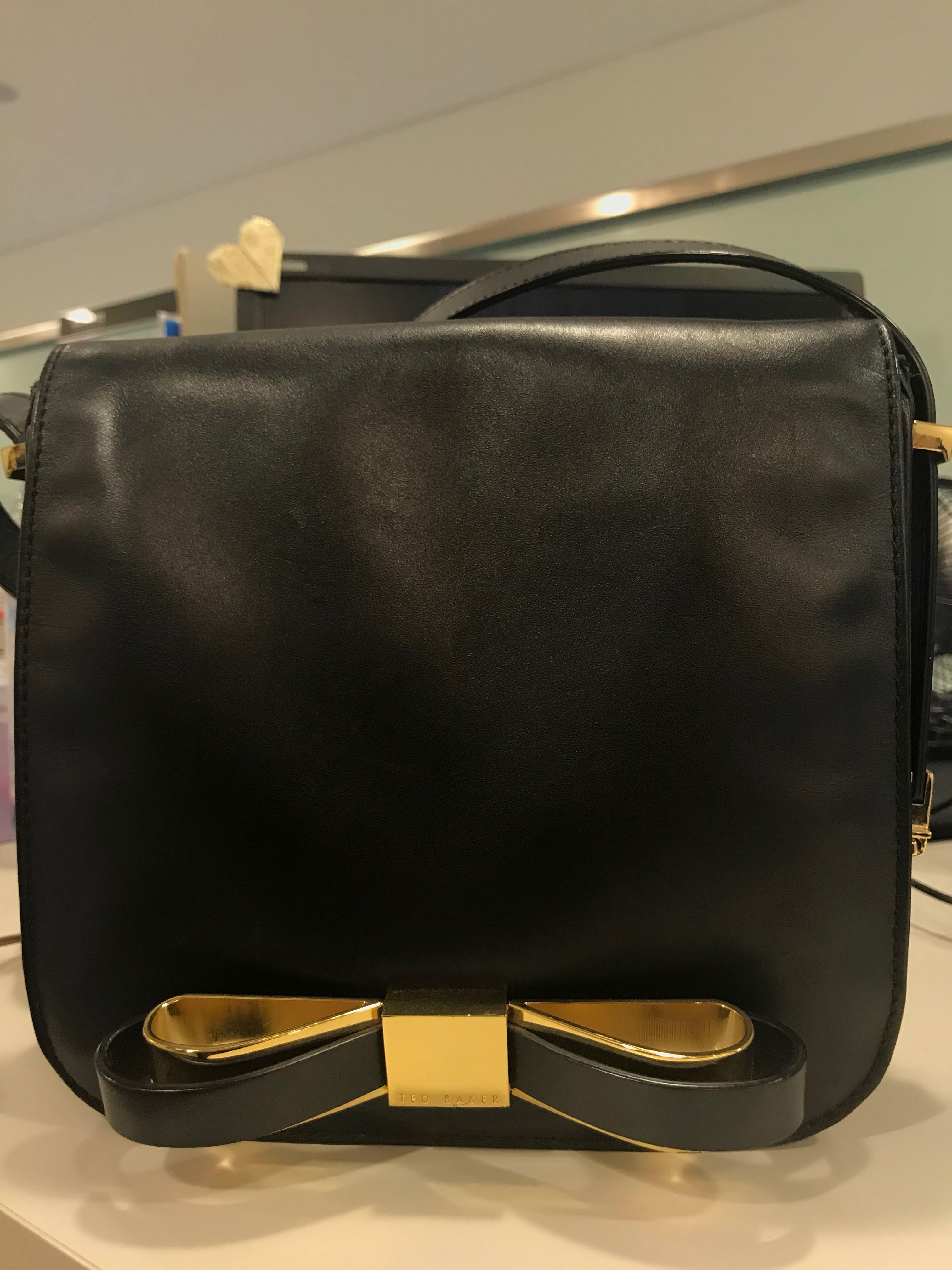 e173974cd Authentic Ted Baker Beesome Bow Sling Bag