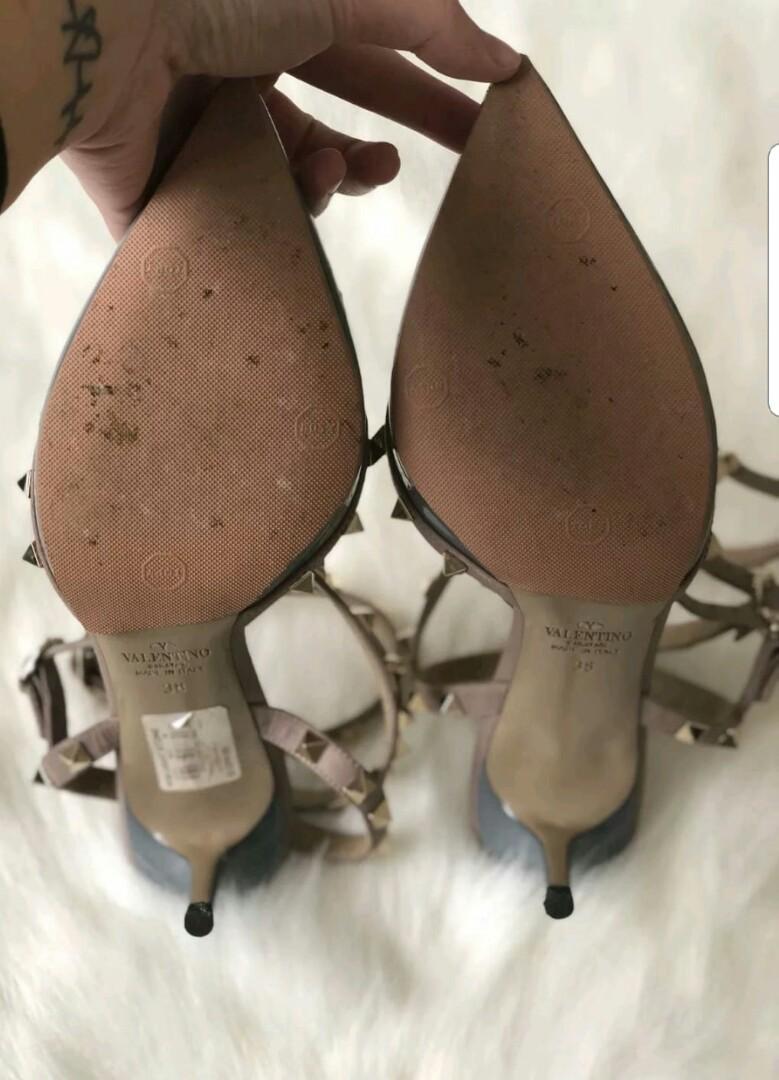 Authentic Valentino rockstud heels