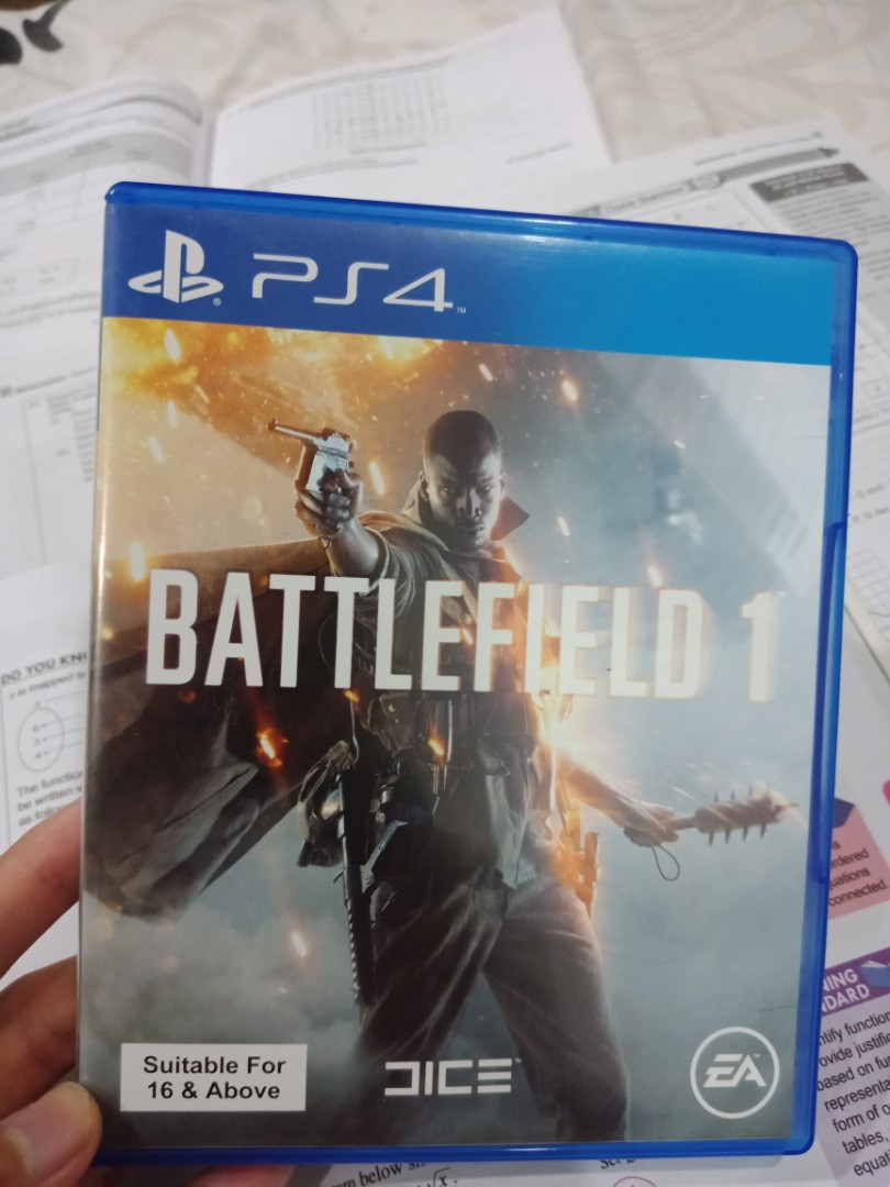 Battlefield 1 Ps4 Video Gaming Games On Carousell Game Photo