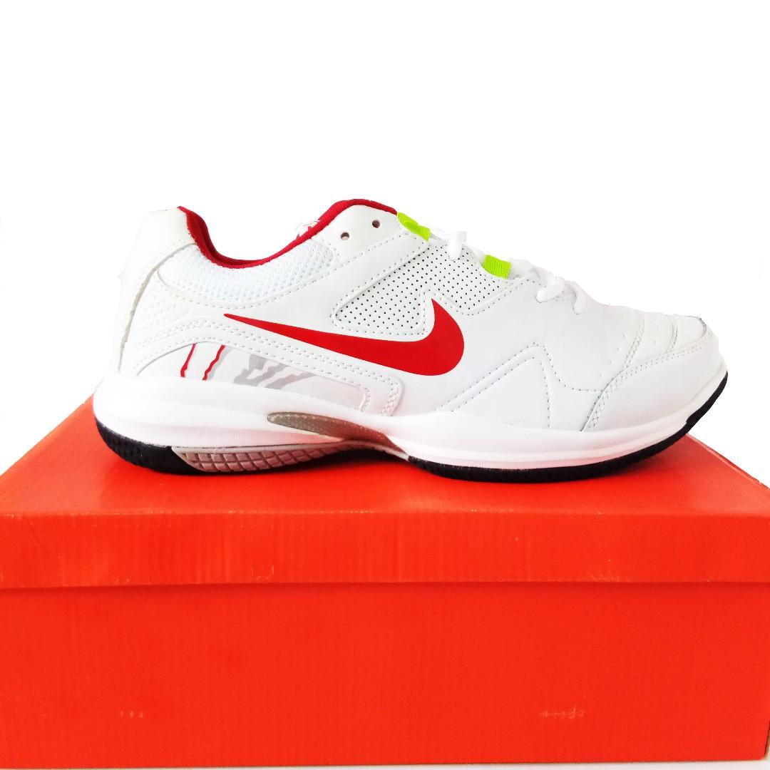a7068da98f4a Big Size Nike White Sneaker PU Leather shoes