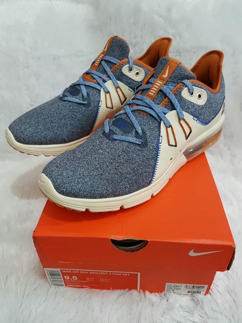low priced 97ecc 174ca Brand New sepatu Nike Air Max sequent 3 PRM VST, Olshop Fashion ...