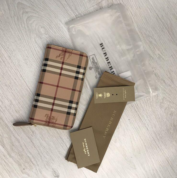 Burberry brand new woman wallet