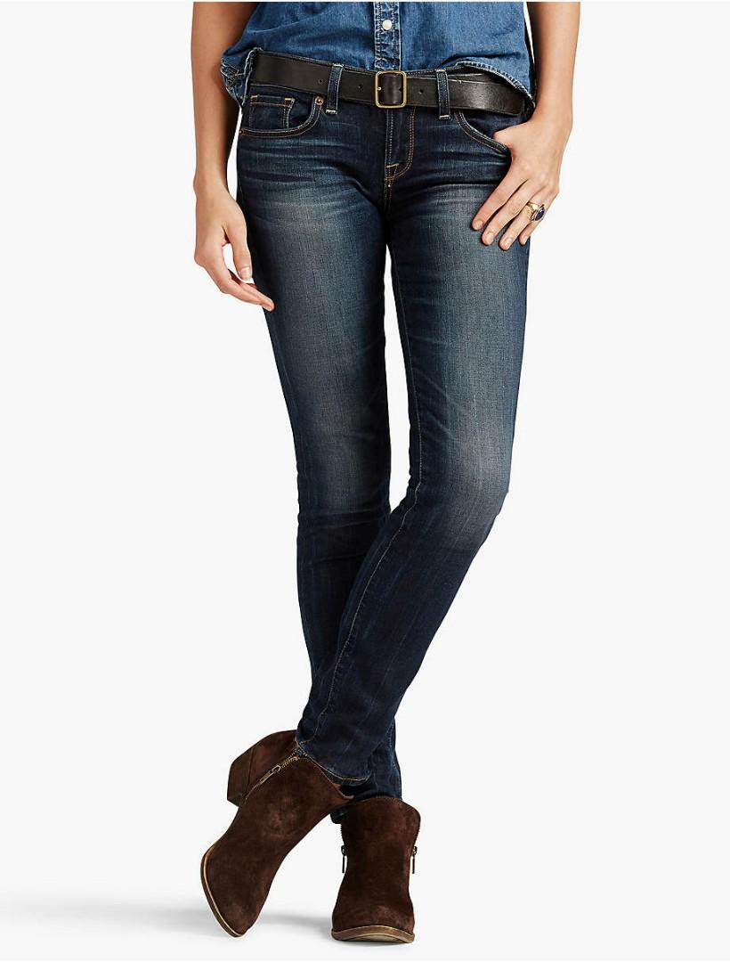 6c6e24f0 Celana Jeans Denim Wanita Women Lucky Brand USA Charlie Skinny Blue ...