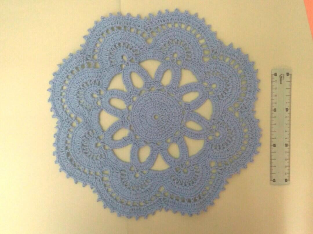 Crochet Tablemat Design Craft Handmade Craft On Carousell