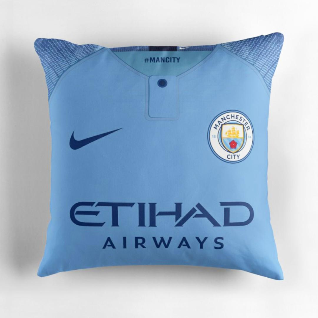 the best attitude fb7b2 26453 CUSTOMIZED MAN CITY DECORATIVE PILLOW - HOME JERSEY DESIGN ...