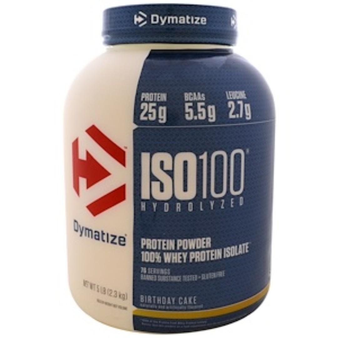 Dymatize Nutrition ISO 100 Hydrolyzed Whey Protein Isolate