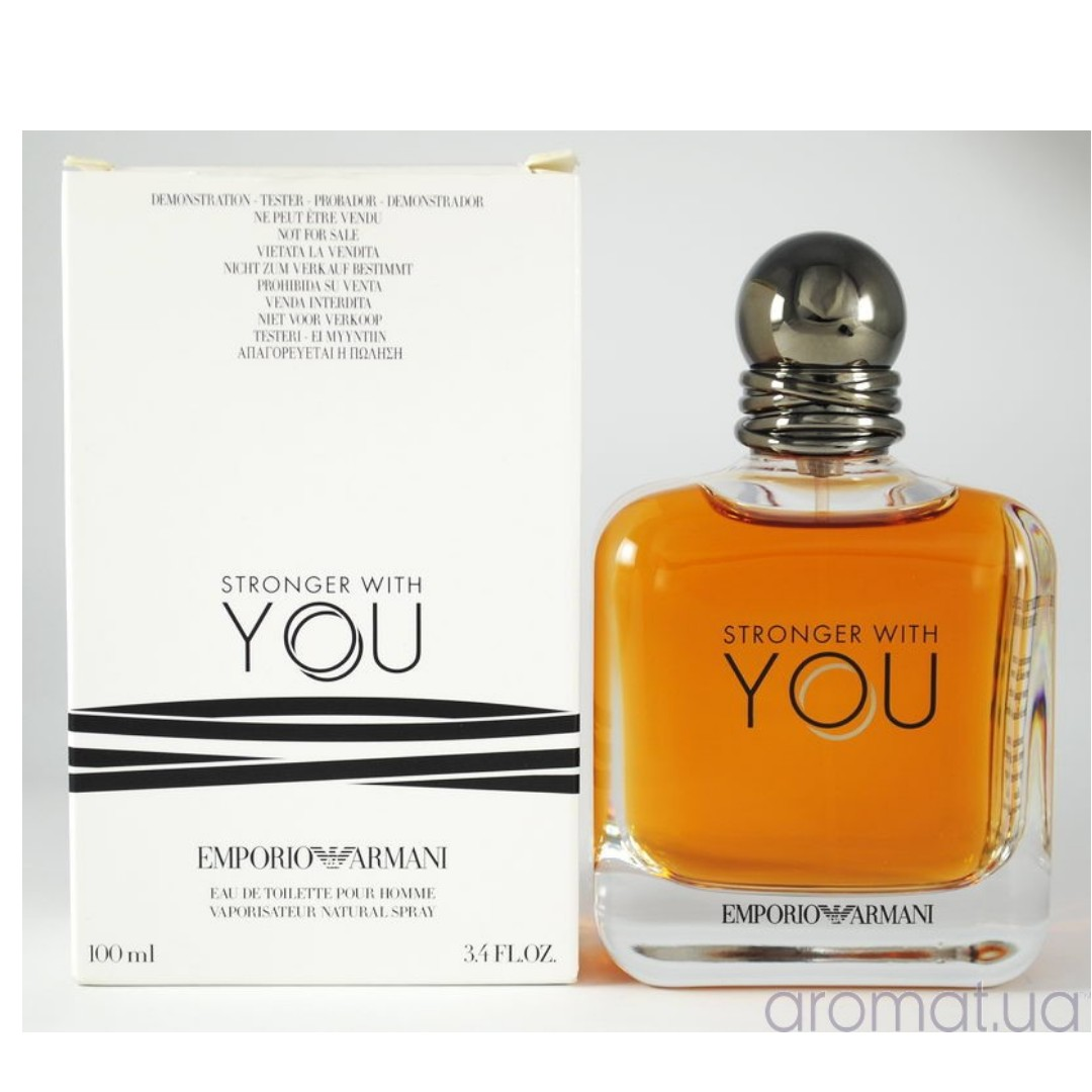 a78cd7cf81d Emporio Armani Stronger with you EDT 100ml Tester