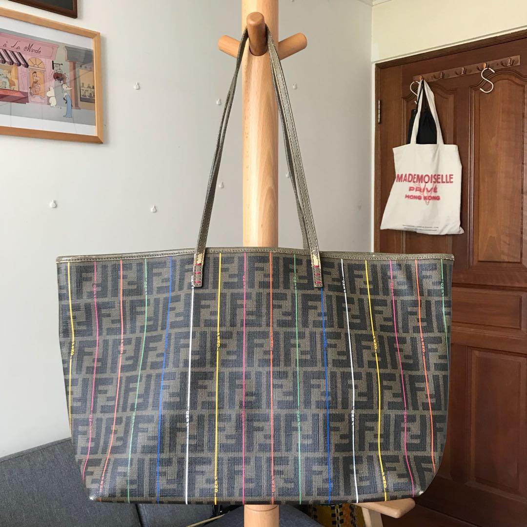 Fendi Neverfull Ping Tote Bag Luxury Bags Wallets Handbags On Carou