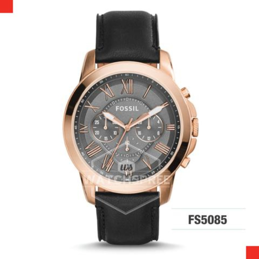 2356add06 FREE DELIVERY *FOSSIL GENUINE* [FS5085] 100% Authentic with 1 Year ...