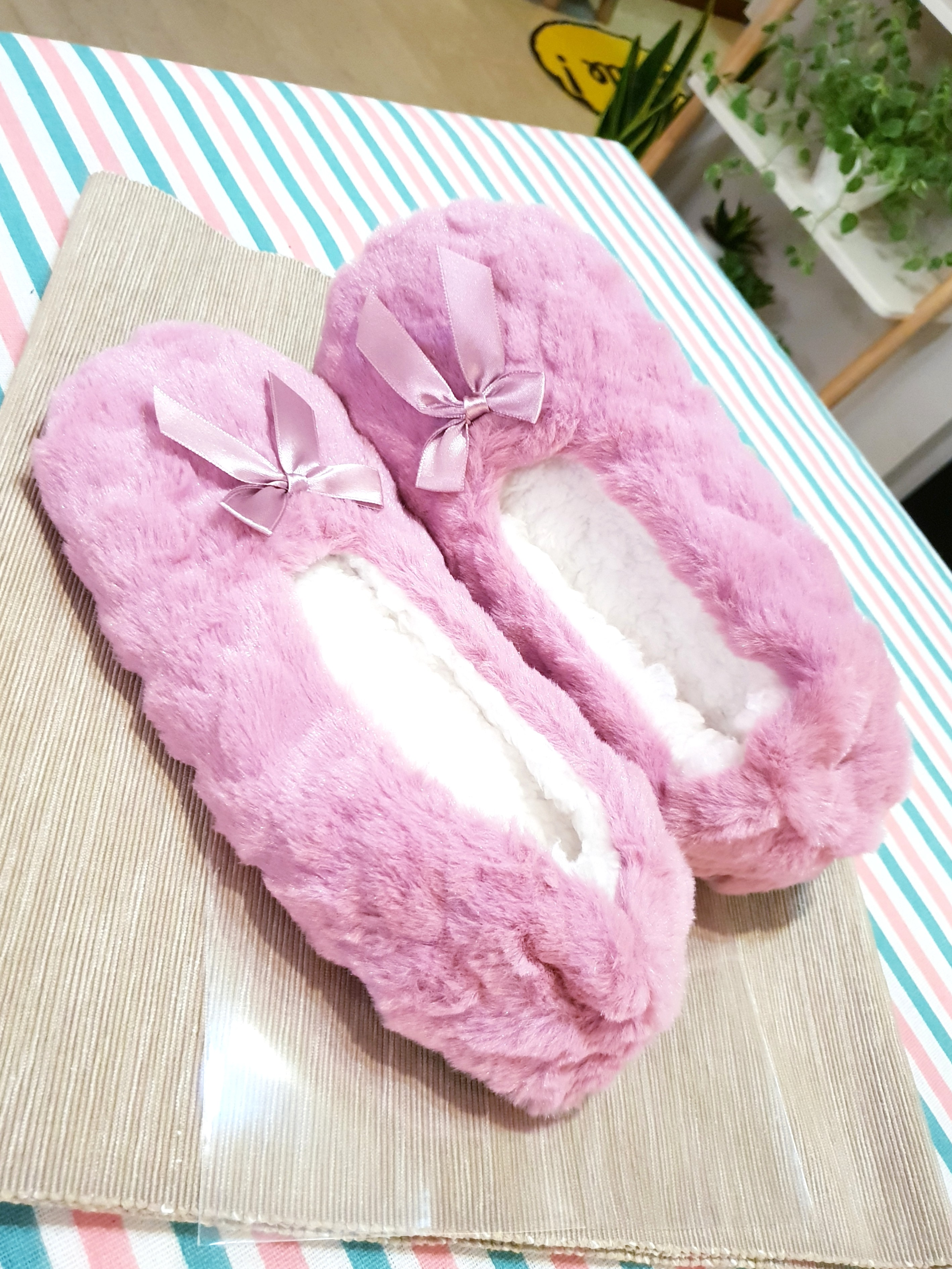a937243a9fc Furry Slip Ons  House Slippers