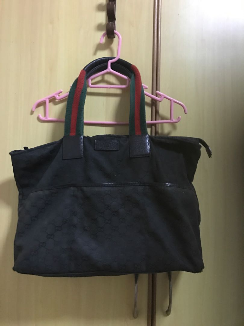 cc6dd9d32 Gucci diaper bag, Luxury, Bags & Wallets, Handbags on Carousell