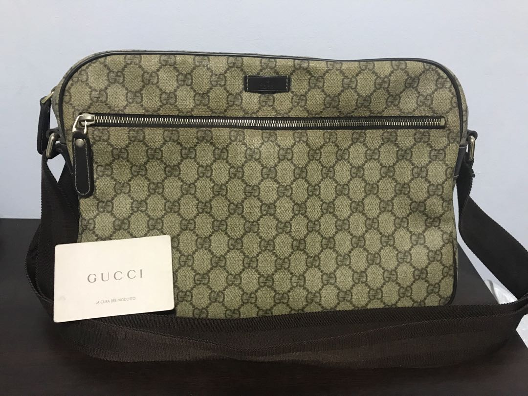 0003c720e8 Gucci Sling Bag, Luxury, Bags & Wallets, Sling Bags on Carousell