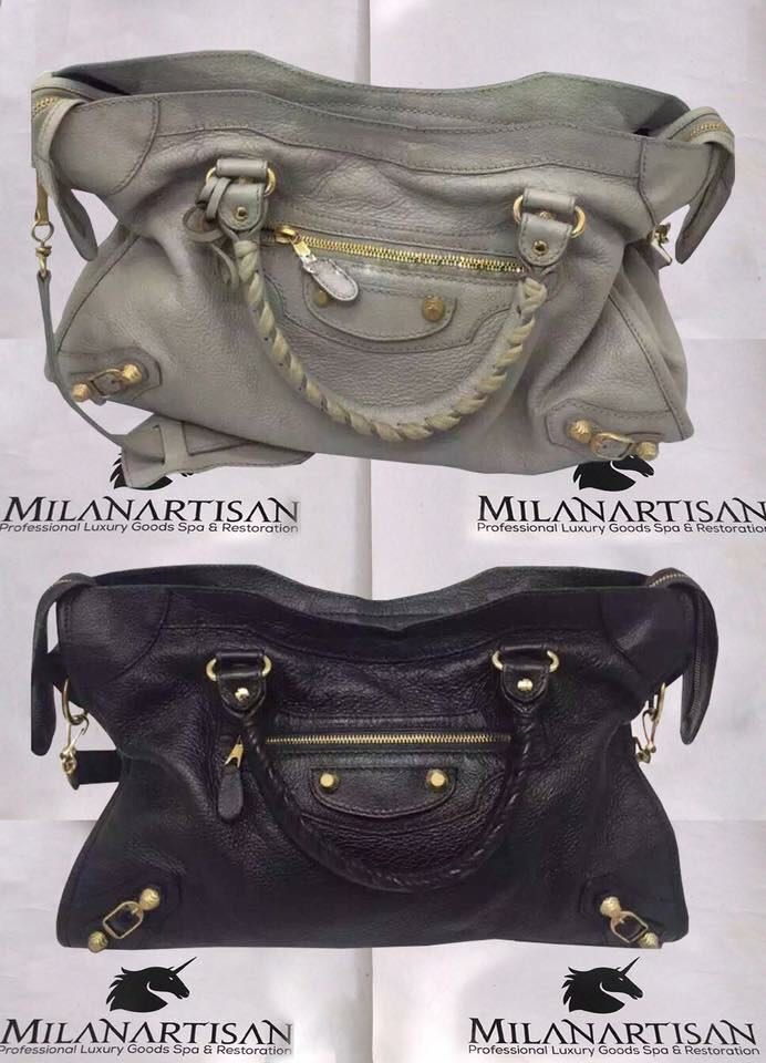 76e5d210213 HAVE YOU BALENCIAGA BAG COLOR FADED TURNED YELLOWISH CORNERS SCUFF WORN OUT  ITS TIME FOR A FULL COLOR RESTORATION !!!, Lifestyle Services, ...