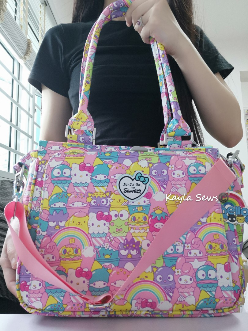 8b8c36fc6 HSS HELLO SANRIO SWEETS BE SASSY, Babies & Kids, Strollers, Bags & Carriers  on Carousell