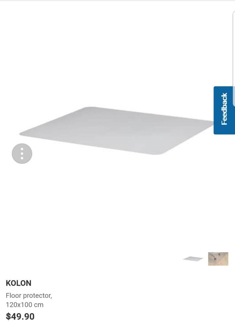 Picture of: Ikea Kolon Floor Protector Furniture Others On Carousell