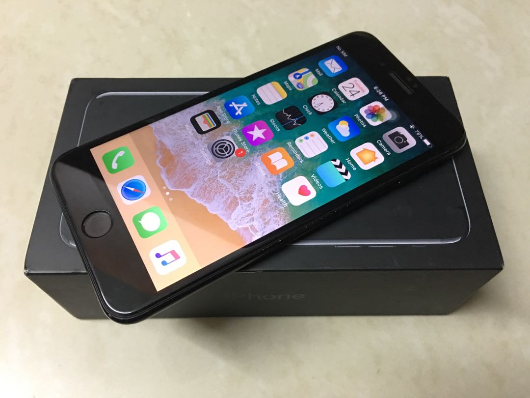 IPHONE 7PLUS 128GB MYSET JETBLACK FULLSET
