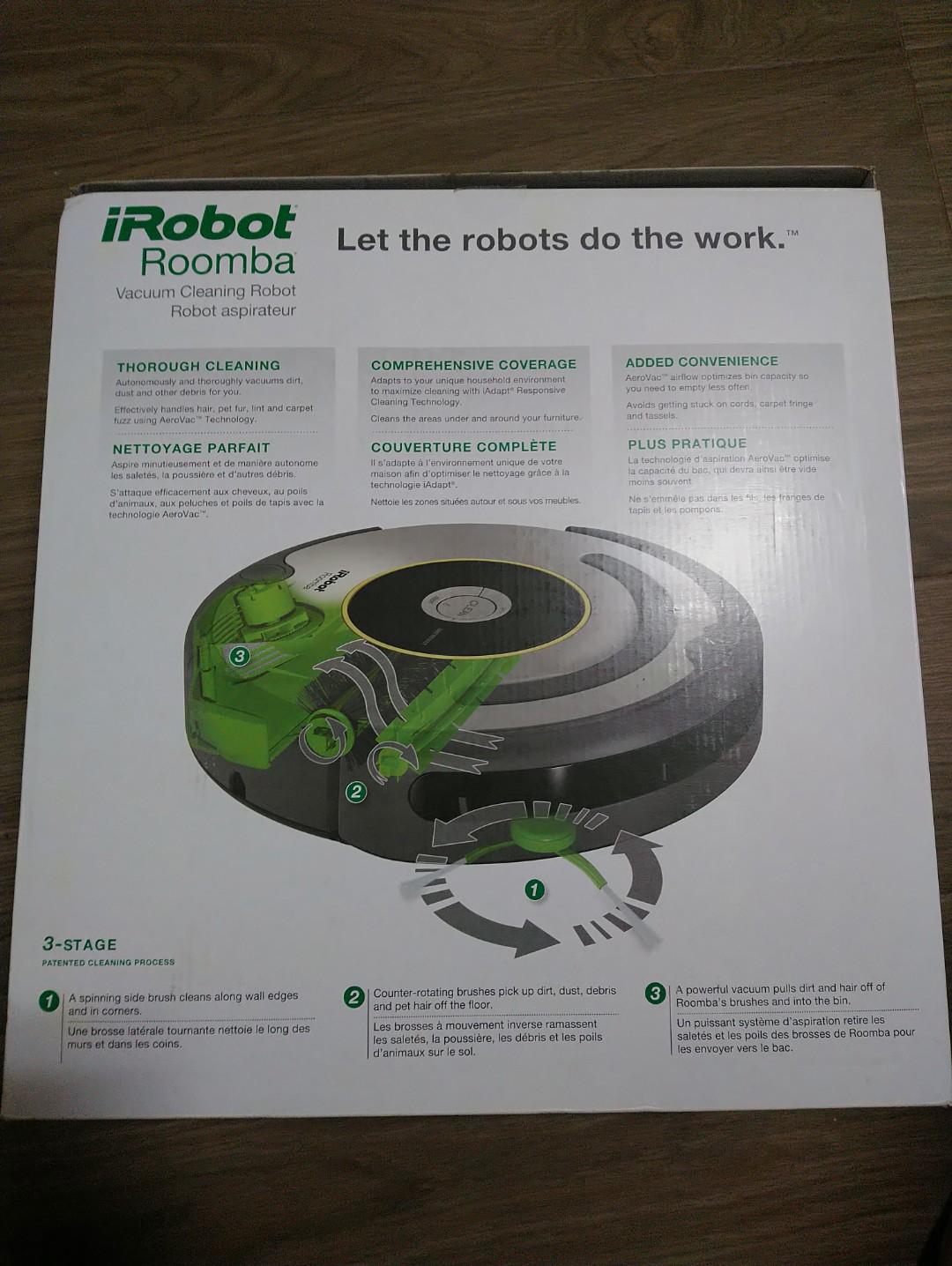 iRobot Roomba 650 (auto vacuum cleaner)