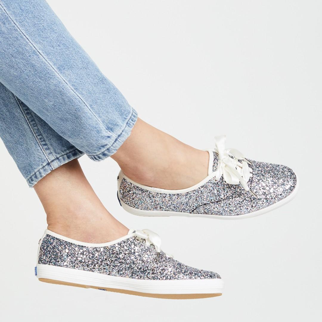 f4eefa7fc376 Keds x Kate Spade New York Glitter Sneakers