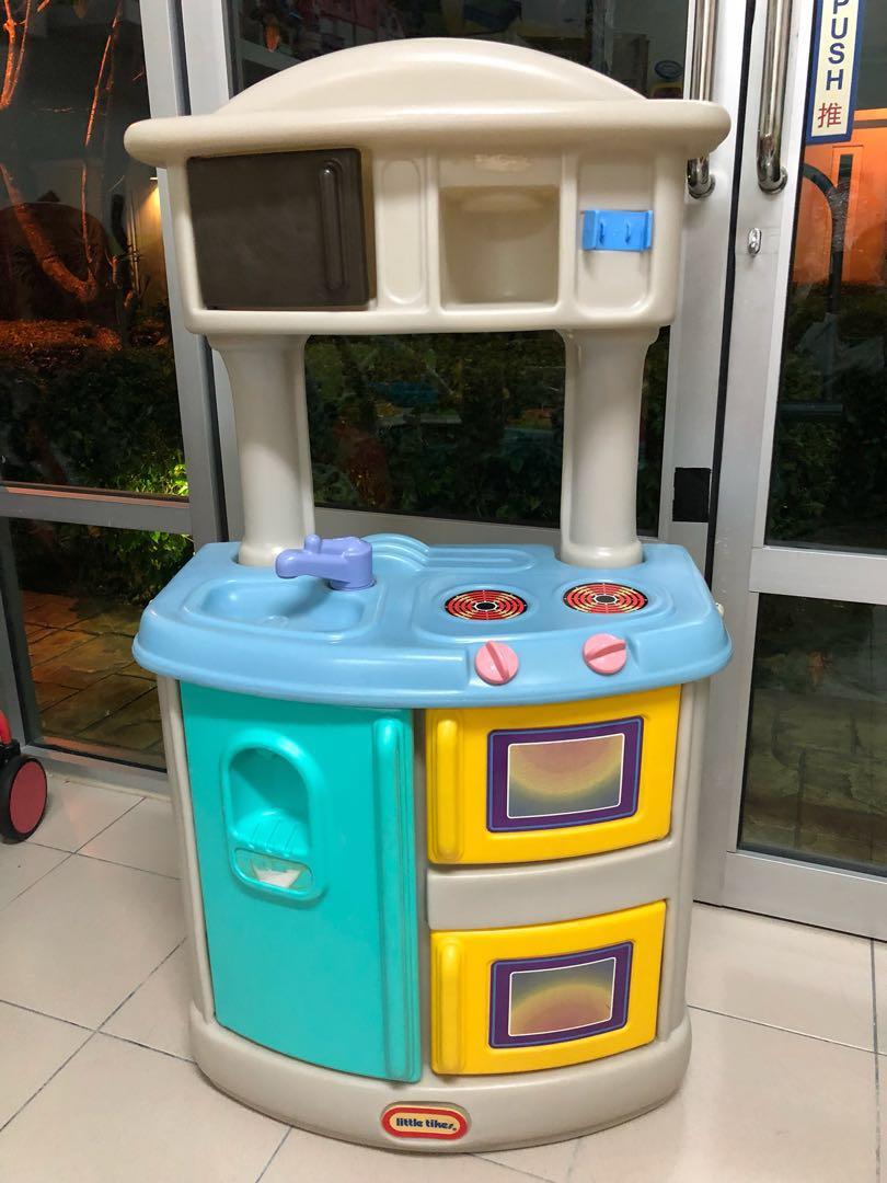 Little Tikes Festive Kitchen, Bayi & Kanak-kanak, Mainan Bayi dan ...